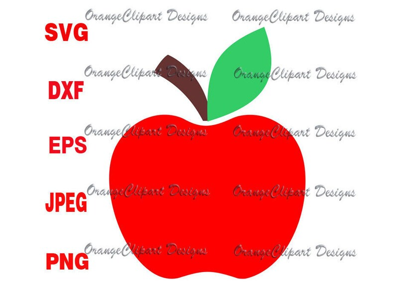Apple Svgapple Cricut Cut Fileapple Svg Vectorapple Vinyl Etsy