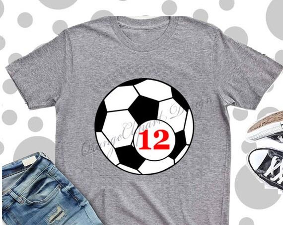 Soccer ball SVG,  Ball Svg,  Soccer ball Monogram SVG, Silhouette Cut Files, Cricut Cut Files, Svg Files