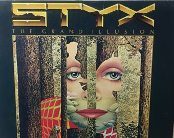 STYX The Grand Illusion 1977 Vinyl