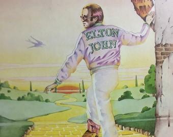 ELTON JOHN Goodbye Yellow Brick Road  MCA2-1003  MCA 355 Vinyl Record