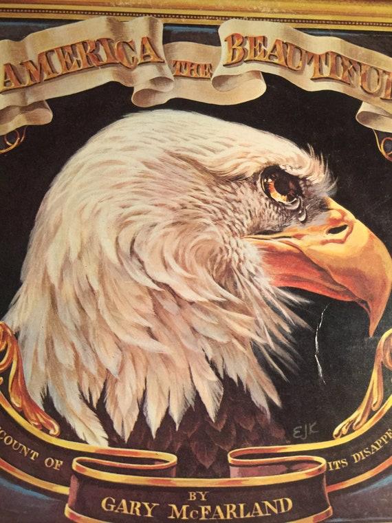 America The Beautiful By Gary Mcfarland Vinyl Record July 4 Etsy