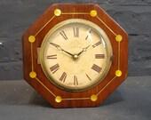 Regency Octagonal Mantel Clock