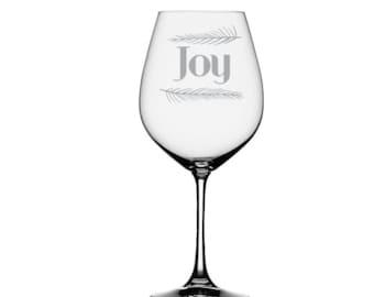 Verre à vin de la joie