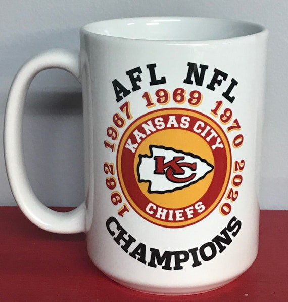 15oz Sculpted Single Mug Kansas City Chiefs NFL Coffee Mug
