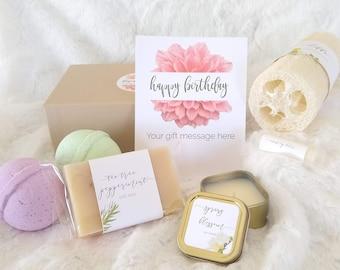 Happy Birthday Gift Set Spa Basket 18th 21st 30th 40th 50th 60th
