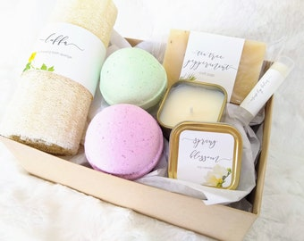 Happy Easter Basket For Daughter Wife Girlfriend Deluxe Spa Gift Relaxation