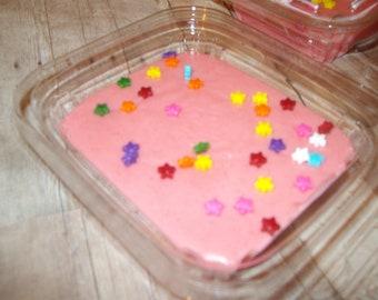 Fudge Strawberry Fudge Pink Strawberry Fudge  Homemade Half pound Candy