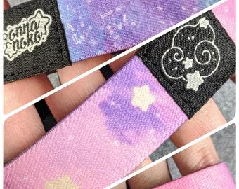Soft Starry Sky & Magical Sword Elastic Bracelets