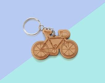 Fixed Gear Bike Keychain