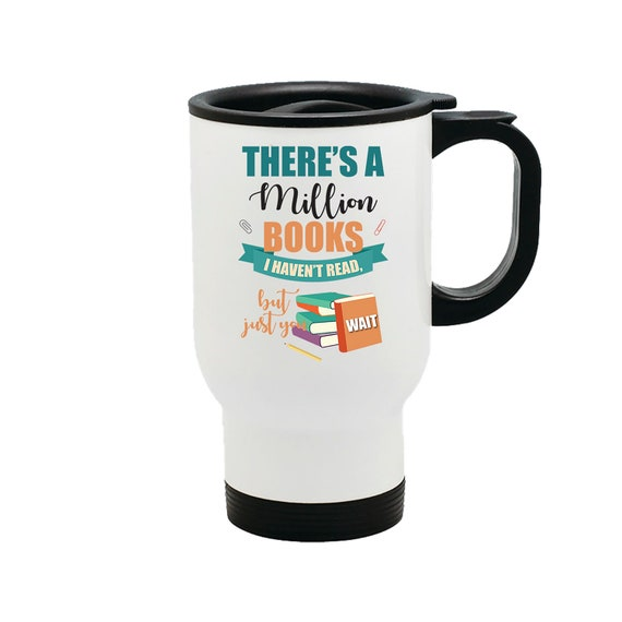 Don/'t Be Lazy 14 oz Metal Car Coffee and Tea Travel Mug for Hot Drinks Life Is Short