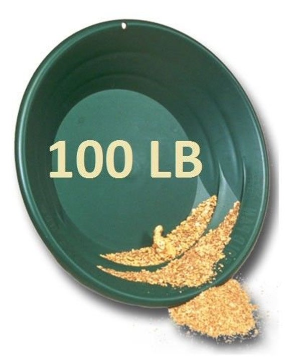 1 Pound Unsearched Alaskan Gold Paydirt for Panning