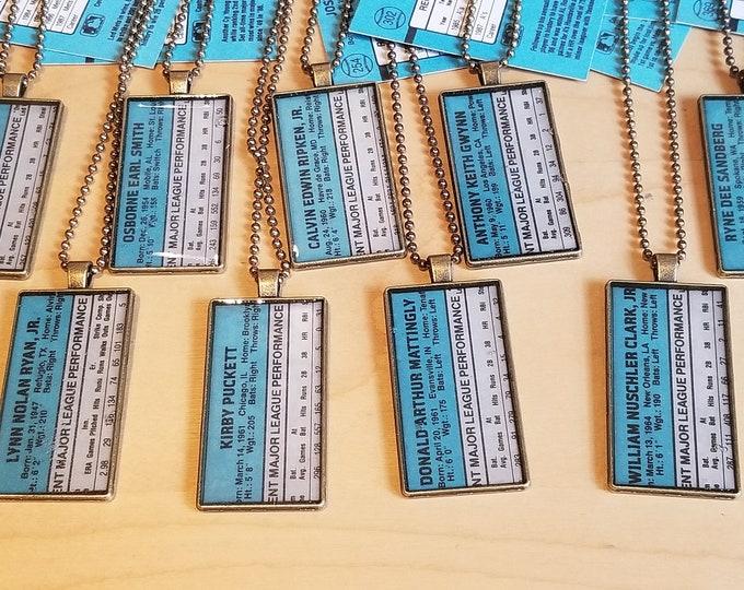 Featured listing image: 1988 Donruss Pendant Chain
