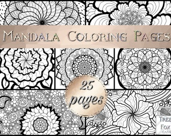 Adult Coloring Page Inspirational Quote Printable Coloring Etsy