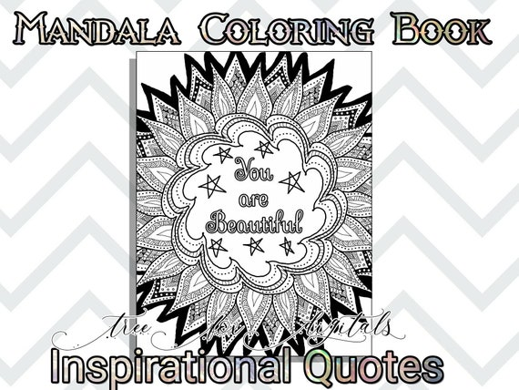 Adult coloring book printable coloring pages inspirational | Etsy