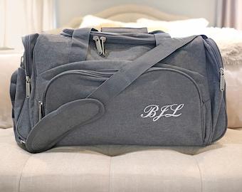 personalized bag, duffle bag, bridesmaid gift, groomsmen gift, weekender bag, bridesmaid bag, travel bag, weekender, personalized gym bag