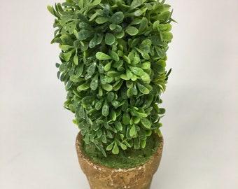 Mini Ceramic Pot w/ Greenery