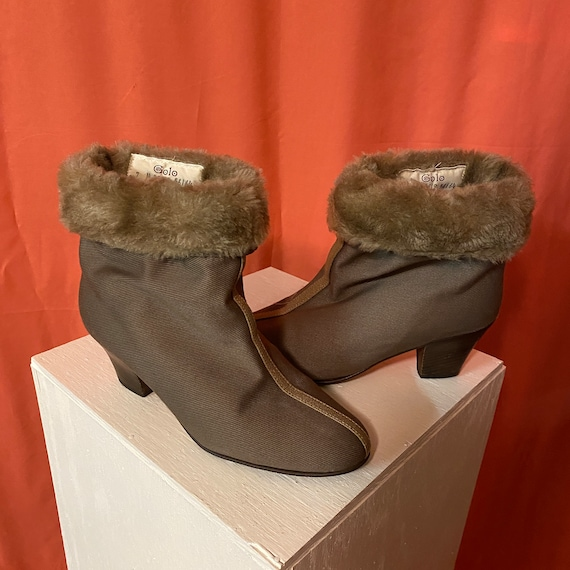 Golo Sherpa Canvas Booties
