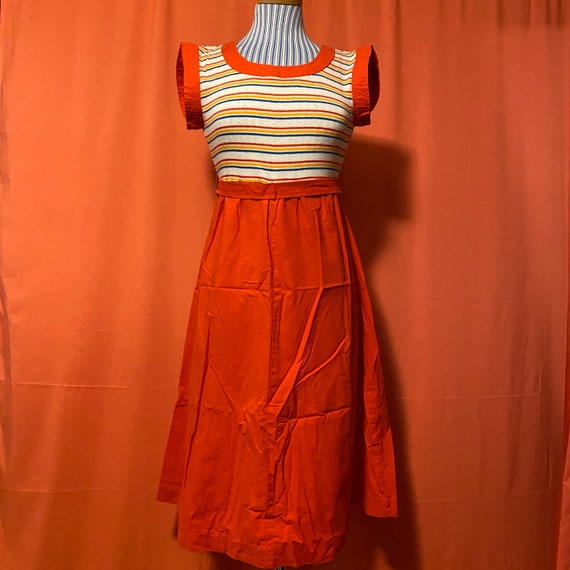 1980s Act I New York Empire Waist Play Dress