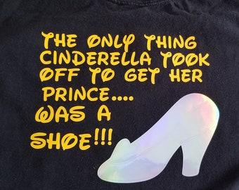 Cinderellas shoe