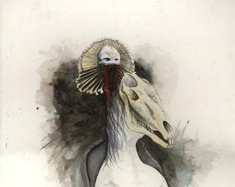 Death Gypsy (print)