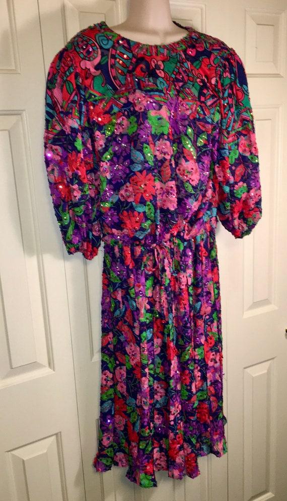 Vintage Diane Freis Two Piece Dress