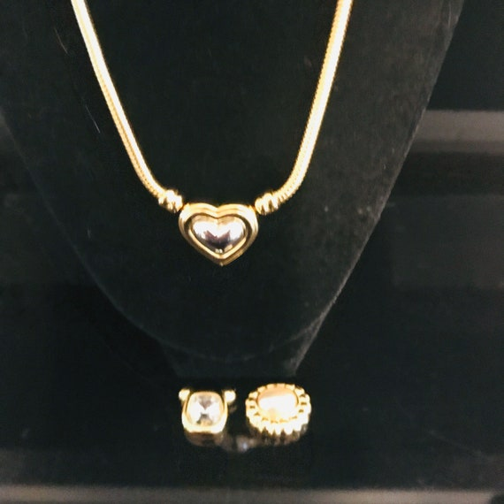 Vintage Necklace Joan Rivers with 3 interchangeabl