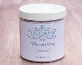Lavender Whipped Soap | Foaming Soap | Lavender Essential Oil | Jojoba Oil | Vitamin E | Shaving Soap | Essential Oil | Gift for Her
