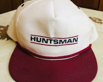 91684762ae9 Huntsman 5 Panel Snapback Trucker Hat Vintage 90s Made in the USA!