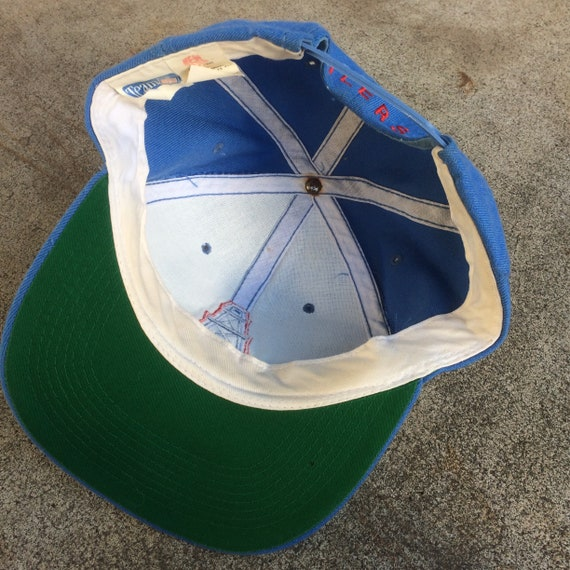 Vintage 90s Houston Oilers 6 Panel Embroidered Snapback  a3167835728d