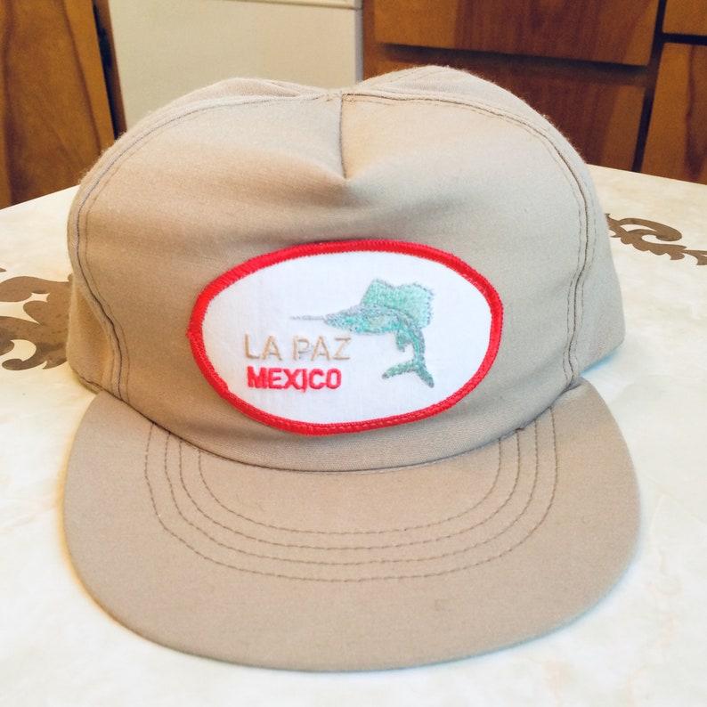 cf807e181a990 La Paz Mexico 5 Panel Snapback Trucker Hat Vintage 90s