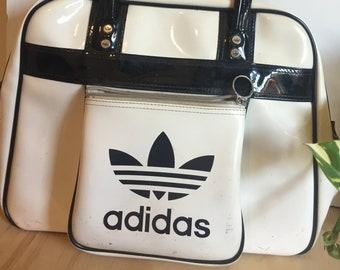 Vintage Adidas Vinyl Bag