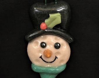 Salt Dough Golf Tee Ornament