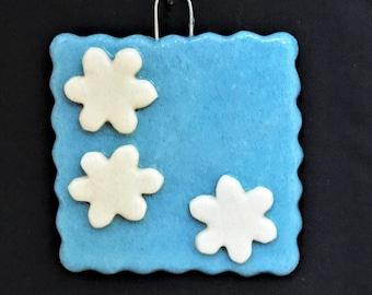 Salt dough Family Snowflake Ornament