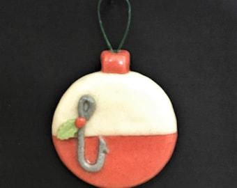 Salt Dough Cork Bobber Ornament