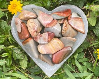 Desert Jasper Tumbled Stones, Polychrome Jasper Tumbled Stones, Tumble Stone, Polished, Natural, Chakra, Reiki