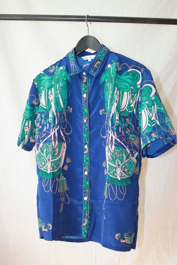 Flamboyant Italian Vintage Shirt