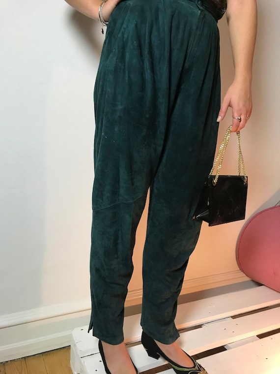 80's Suede Pants