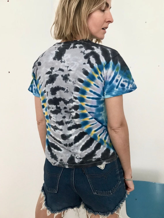 Vintage Tie-dye T-shirt - image 4