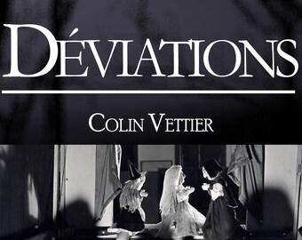 Déviations, de Colin Vettier (Ebook, recueil de nouvelles satiriques)