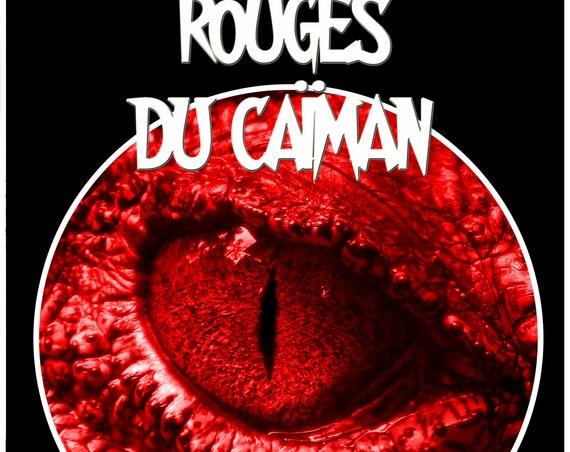 Les yeux rouges du caïman, par Jo Mével (Novella)