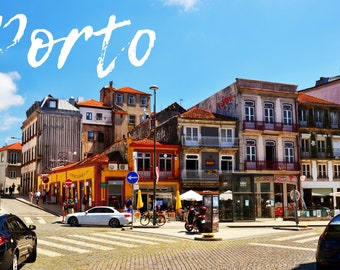 Cliché of the streets of Porto, Portugal, to print yourself for a postcard, a poster, a canvas or any other decorative idea