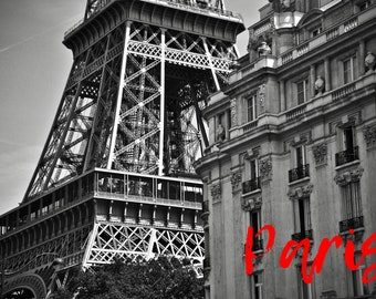Cliché of Paris, the Eiffel Tower, France, to print yourself for a postcard, a poster, a canvas or any other decorative idea
