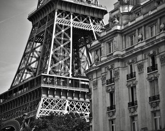 Lot of 5 original photos of the Eiffel Tower to print yourself