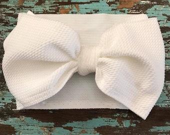 White Headwrap