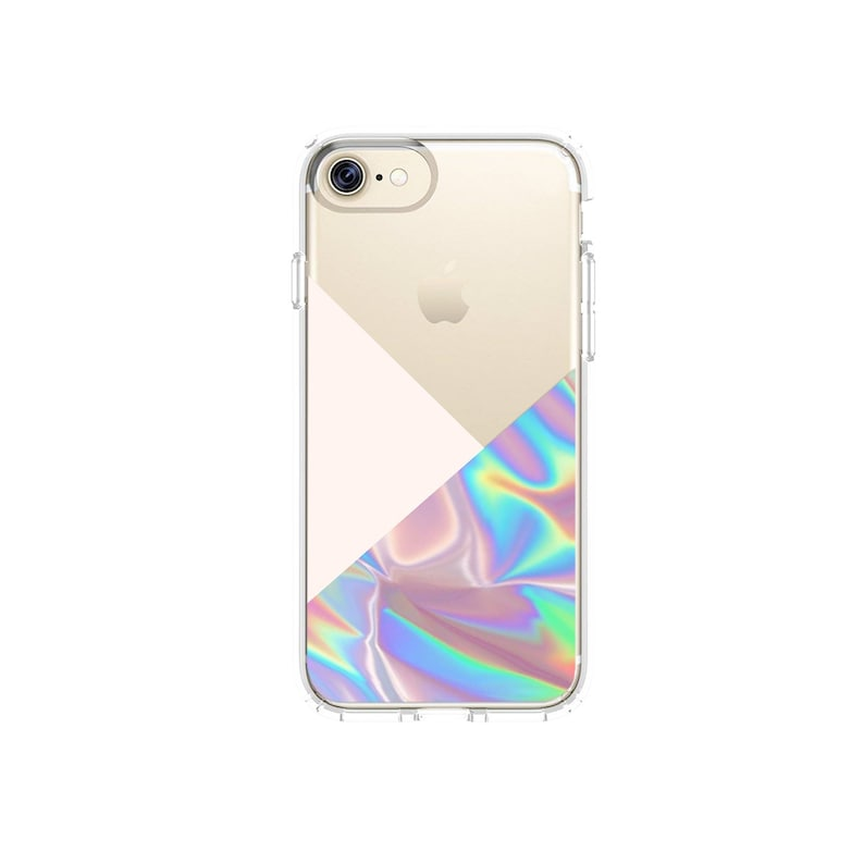 low priced bb910 dcec2 iPhone Case Faux Holographic iPhone 8 Plus iPhone X XS XR Max Case Tumblr  Pop Art iPhone 6S Case Abstract iPhone 7 Plus Case Samsung Galaxy