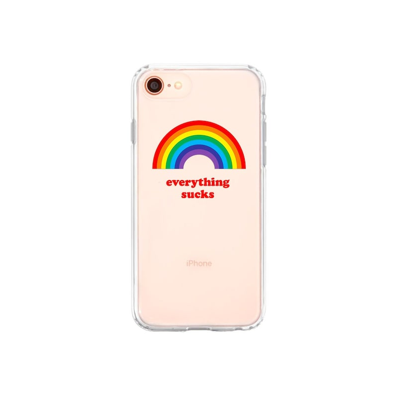rainbow iphone 8 plus case