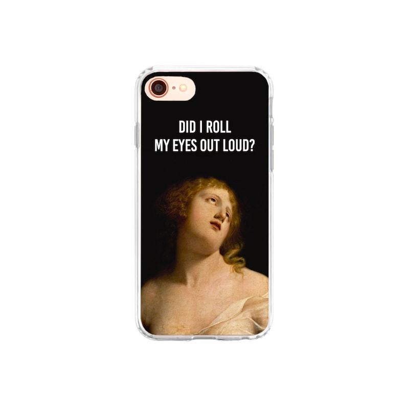 the latest 3d7ec 5c261 iPhone Case Funny iPhone 8 Plus Case iPhone X Case Sarcastic iPhone 7 Case  Classical Art iPhone 7 Plus Case iPhone 6 Plus Samsung Galaxy