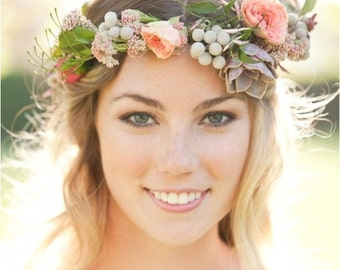 Fresh Premium Flower Crown