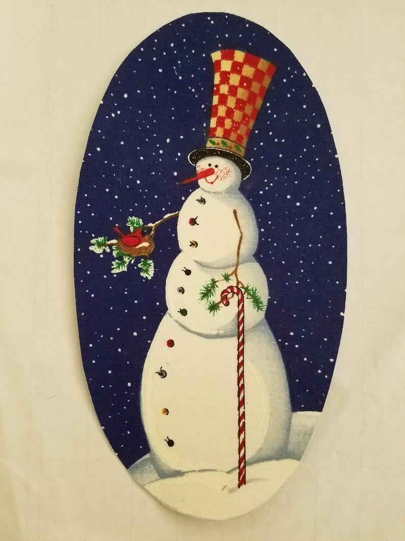 Snowman Iron On Applique #45