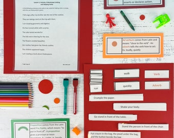 Grammar Kit 2: Verbs, Adverbs, and Prepositions